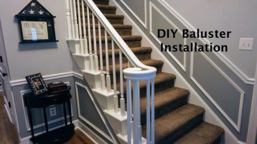 DIY Baluster Installation